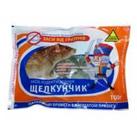 Родентицид/Средство от мышей Щелкунчик М (параф.бр.) 100г (50)