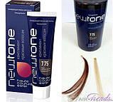 Тонуюча маска для волосся 7/75 (русявий коричнево-червоний) Estel Haute Couture Newtone, 60 мл, фото 2