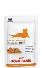 Royal Canin SENIOR CONSULT STAGE 2 Pouches0,1кг котів і кішок старше 7 років,які мають ознаки старіння