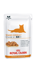 Royal Canin SENIOR CONSULT STAGE 2 Pouches0,1кг котов и кошек старше 7 лет,имеющие признаки старения
