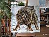Картина аппликация Тибетский Мастиф художника Tang Jiang