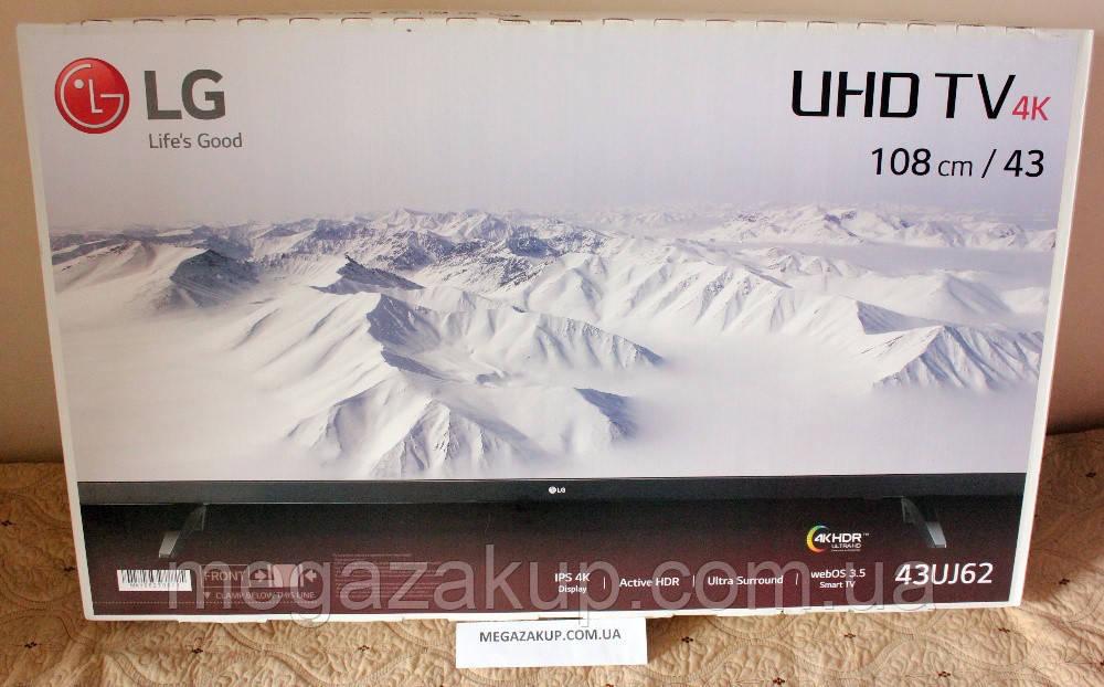 b21352972 Телевизор LG 43UJ620v (PMI 1500 Гц, 4K Ultra HD, Smart TV, Wi-Fi ...