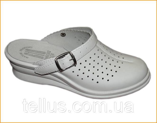 Кожанная обувь для медиков
