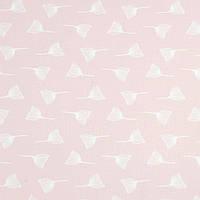 Хлопковая ткань Одуванчики на пудровом розовом