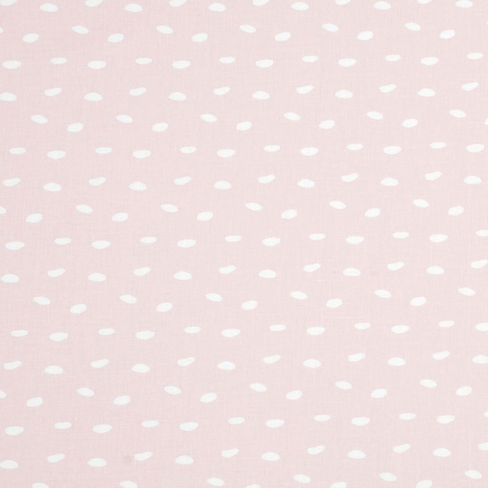 Хлопковая ткань Галька на пудровом розовом