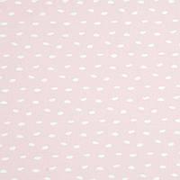 ✁ Відріз бавовняної тканини Галька на пудровому рожевому 100х80 см, фото 1