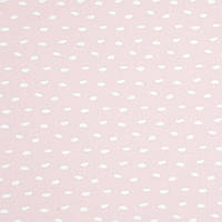 ✁ Отрез хлопковой ткани Галька на пудровом розовом 100х80 см, фото 1