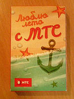 Карты сувенирные МТС