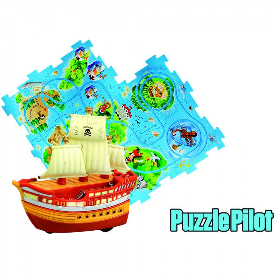 Управляемый пазл Пиратский корабль Puzzle Pilot (100613)