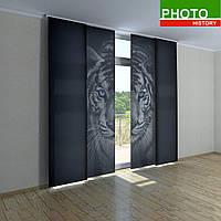 Японские фото шторы бенгальский тигр