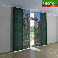 Японские фотошторы горы