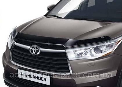 Дефлектор капота темный Highlander III 2013 Новый Оригинальный