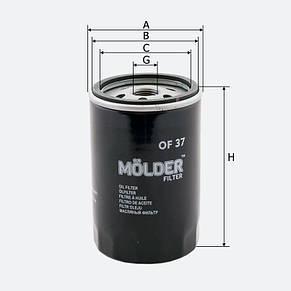 Масляный фильтр Molder OF37, фото 2