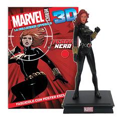 Мініатюрна фігура Герої Marvel 3D №09 Чорна вдова (Centauria) масштаб 1:16