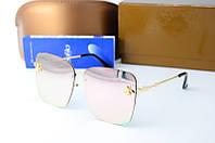Солнцезащитные очки Gucci квадратные розовые, фото 1