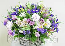Вафельная картинка Цветы 3