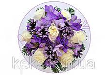 Вафельная картинка Цветы 5