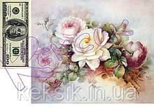 Вафельная картинка Цветы 1