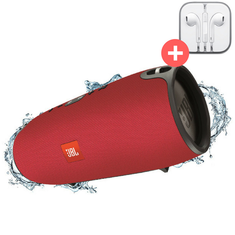 Портативная Bluetooth колонка JBL Xtreme блютуз Bluetooth MP3 FM USB Quality Replica. Красная. Red