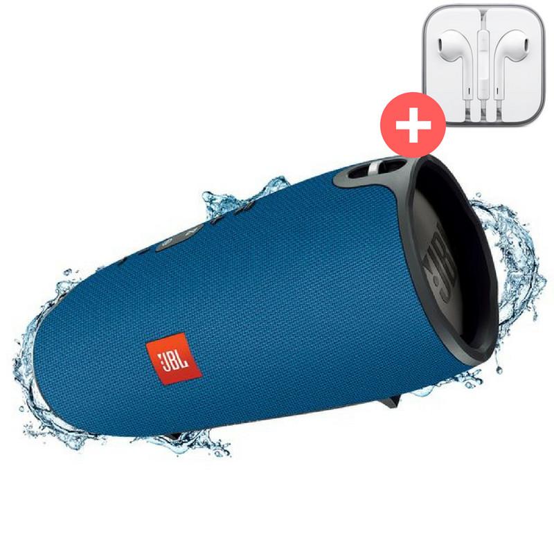 Портативная Bluetooth колонка JBL Xtreme блютуз Bluetooth MP3 FM USB Quality Replica. Синяя. Blue