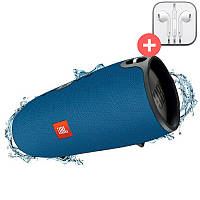 Портативная Bluetooth колонка JBL Xtreme блютуз Bluetooth MP3 FM USB. Синяя. Blue