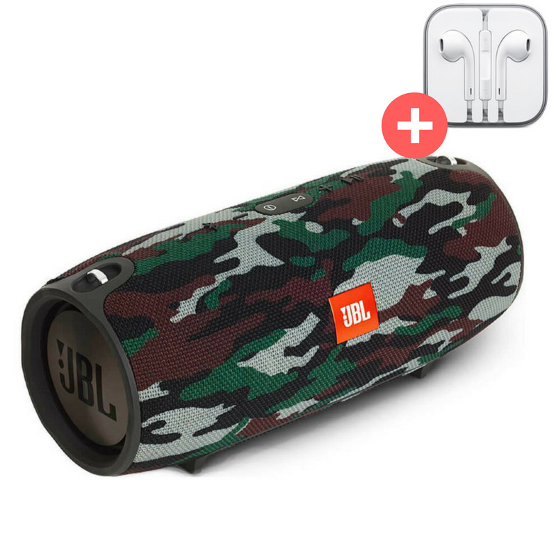 Колонка JBL Xtreme блютуз Bluetooth MP3 FM USB Quality Replica. Камуфляж. Militari