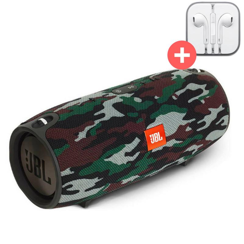 Портативная Bluetooth колонка JBL Xtreme блютуз Bluetooth MP3 FM USB Quality Replica. Камуфляж. Militari