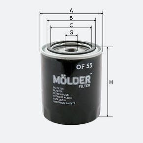 Масляный фильтр Molder OF 55, фото 2