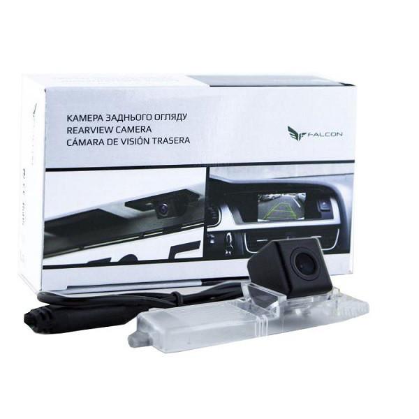 Штатная камера заднего вида Falcon SC31-HCCD. Toyota Highlander 2007-2014/Prius 2003-2011/Lexus RX300