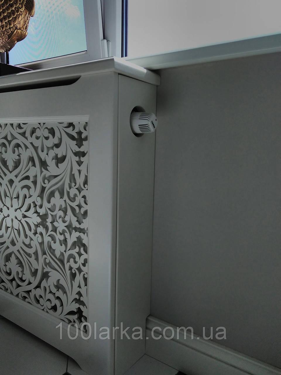Экраны (короба) декоративные деревянные для батарей отопления решетка №18А