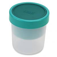Контейнер круглый для супа JOSEPH JOSEPH GoEat Compact 2-в-1 900 мл Голубой (81067), фото 1