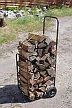 Тележка для дров без дуги, фото 2