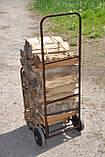 Тележка для дров без дуги, фото 3