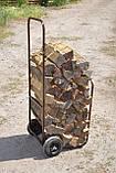 Тележка для дров без дуги, фото 4