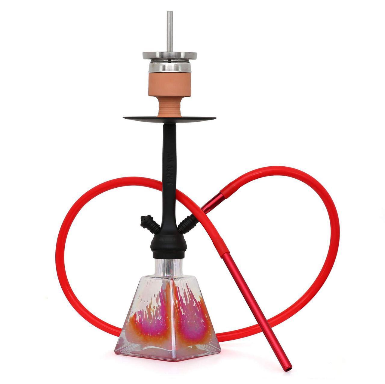 Кальян AMY Deluxe 038R I need you висота 55 см на 1 персону червоний