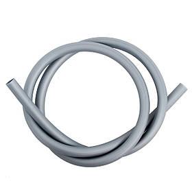 Шланг силиконовый матовый AMY Deluxe серебро