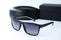 Солнцезащитные очки Morel прямоугольные черные