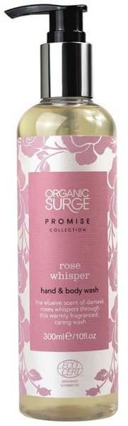 """Гель для мытья рук и тела """"Шепот Розы"""", Organic Surge 300мл"""