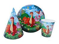 Набор праздничный  Динозаврики