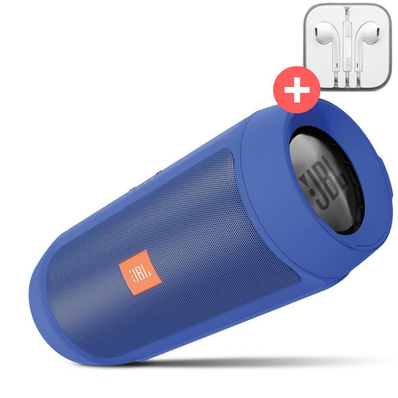 Колонка JBL Charge 2+ Quality Replica. Синяя. Blue
