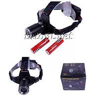 Фонарь аккумуляторный налобный X-Balog WD421 W609