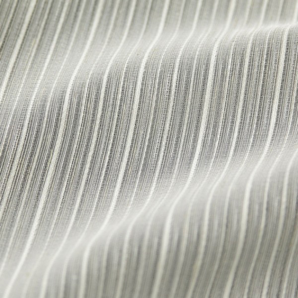 Тюль в полоску, с декоративными нитями 2959-006