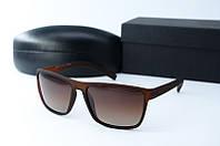 Солнцезащитные очки Morel прямоугольные коричневые, фото 1
