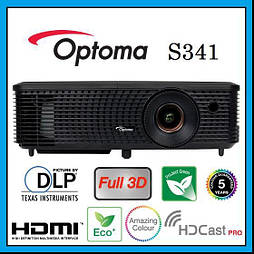 Мультимедийный проектор Optoma S341 (95.71P03GC0E)