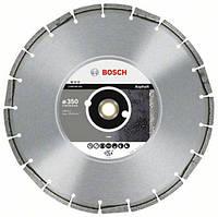 Круг алмазный Bosch 350*25,4 asphalt