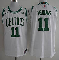 Біла чоловіча майка Boston Celtics NBA Kyrie Irving (Кайра Ірвінг)