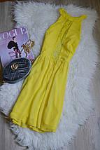 Желтое платье с кружевом и красивой спинкой ASOS, фото 3