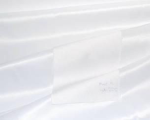 Ткань для Скатертей Однотон-155 (Рис.4) Белая с пропиткой Тефлон 155см, фото 2