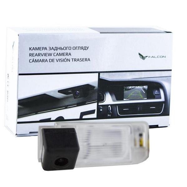 Штатная камера заднего вида Falcon SC37-HCCD. Citroen C4 Aircross 2012+/Mitsubishi ASX 2010+/Peugeot 4008