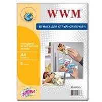 Фотобумага магнитная WWM, глянцевая, A4, 5л